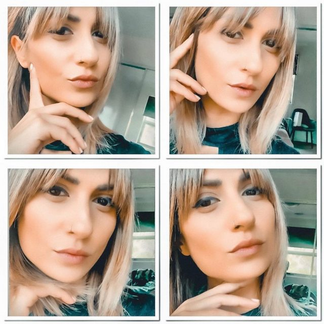 MONDAY VIBES Taking photos and looking cute.. because... that's about all we can do these days! 😩Image via our favourite pocket ROKKet @rokkem_creative 🚀😘#bringbackhairandbeauty #rokkebony #yourokk #missingthesalon #hairstyles #hairgoals #melbournesalon #melbournelife #bangs #blondehair #shorthairgoals